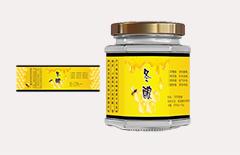 土蜂蜜不干胶标签印刷