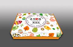 烤肉饭外卖纸盒定制