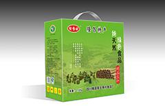 隆昌土特产豆杆包装盒