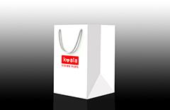 考拉鲜生外卖包装手提袋印刷定制