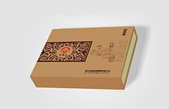 牛皮纸保健酒礼品包装盒