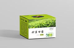 高地红茶叶纸盒包装定制