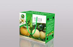 10斤装梨子包装盒设计制作