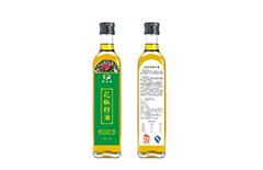 花椒籽油瓶贴不干胶标签印刷