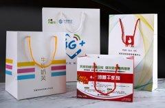 成都手提袋制作常用的手提绳样式及优缺点