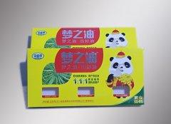 油菜籽包装纸盒可变二维...