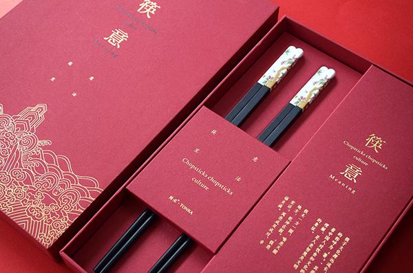 礼品包装盒中融入书法元素提高产品销售量