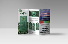 产品三折页宣传册 印刷 ...
