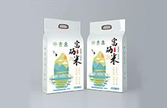 富硒大米包装纸袋定制