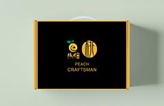 12枚装水蜜桃包装纸盒
